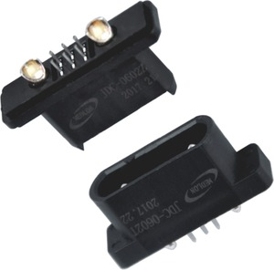 Elcon Rectangular 8 pin ( 6S and 2P) wire base station connector