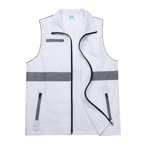 Volunteer outdoor activities combined trendy reflective vest manufacturers wholesale DIY customization 101