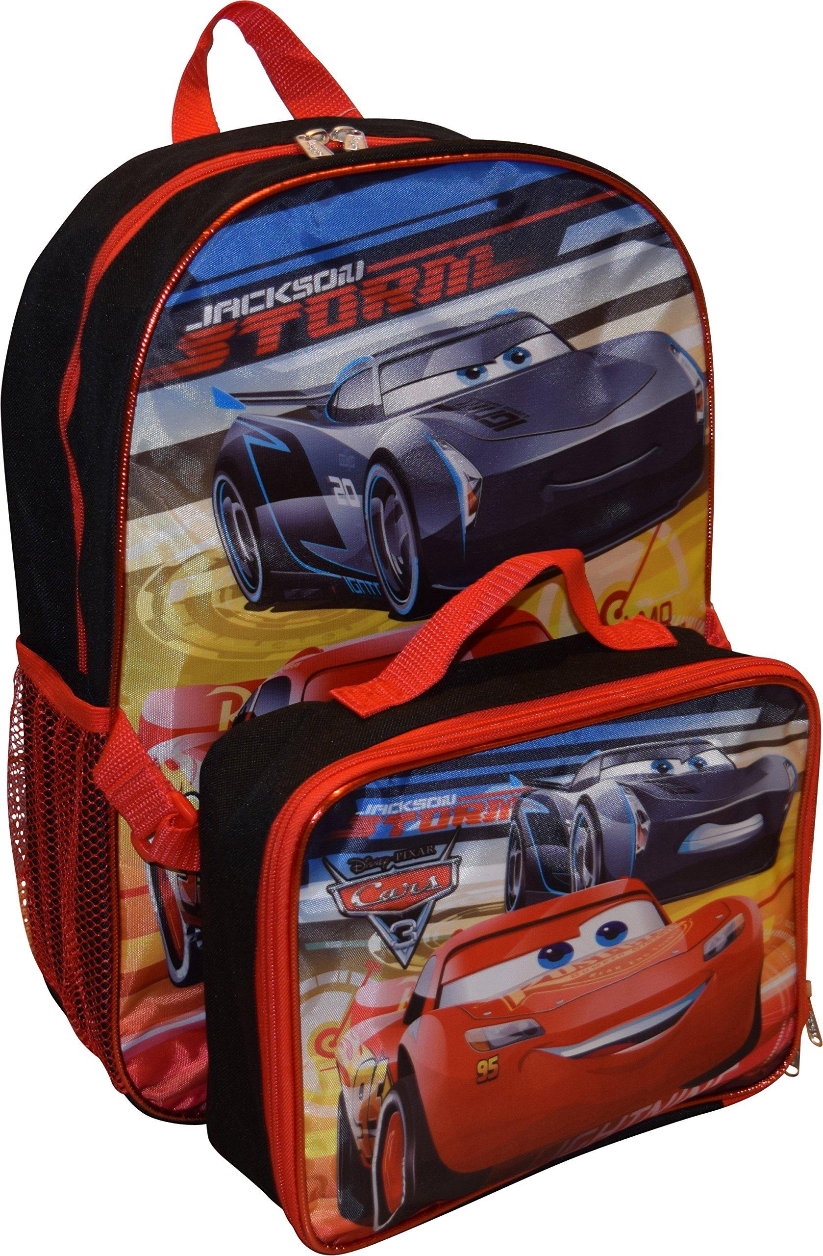 e842bc325ac Get Quotations · Disney Pixar Cars Jackson   Lightning McQueen 16