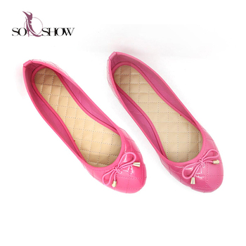 Ladies fancy flat shoes 2018 pink pu china shoes women flat, View shoes  women flat, SO-SHOW Product Details from Ningbo Yinzhou So-Show  International Trading Co., Ltd. on Alibaba.com