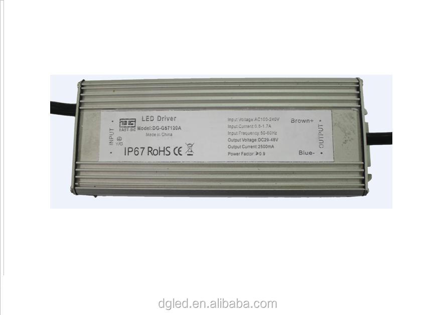 china supplier new products Top High Quality 2500ma ip67 120w power systems led drive