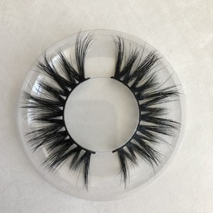 Hot Selling 3D Mink Lashes Handmade Natural Long Thick private label Mink eyelashes