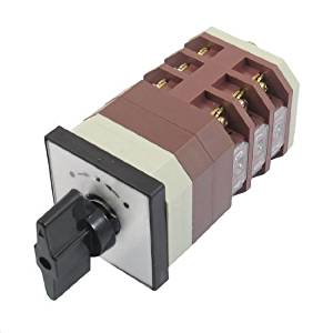 Water & Wood AC 380V 16A Momentary Three Position 12 Terminals Cam Combination Changeover Switch