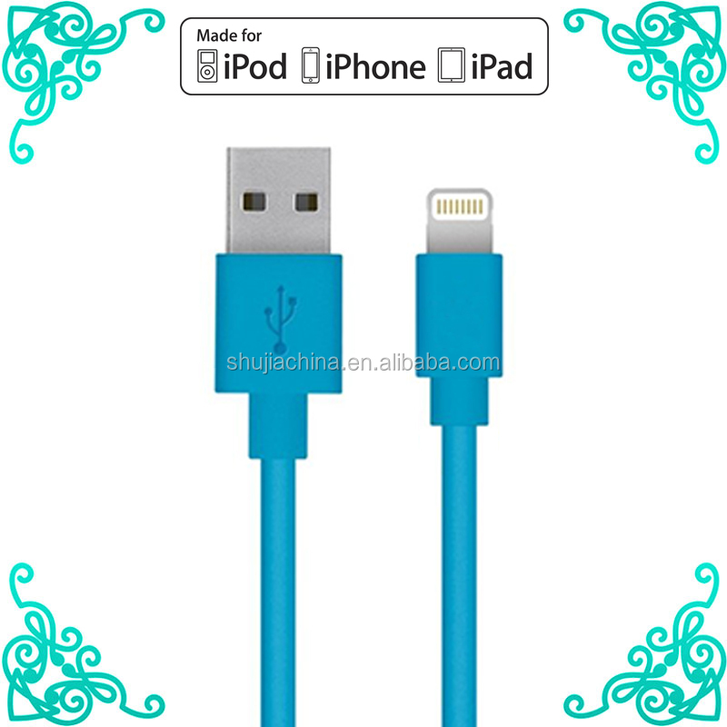 Wholesale price cale for iphone 5s cable mfi certified