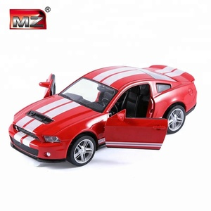 Ford Mustang GT500 pull back toy diecast car model for playing