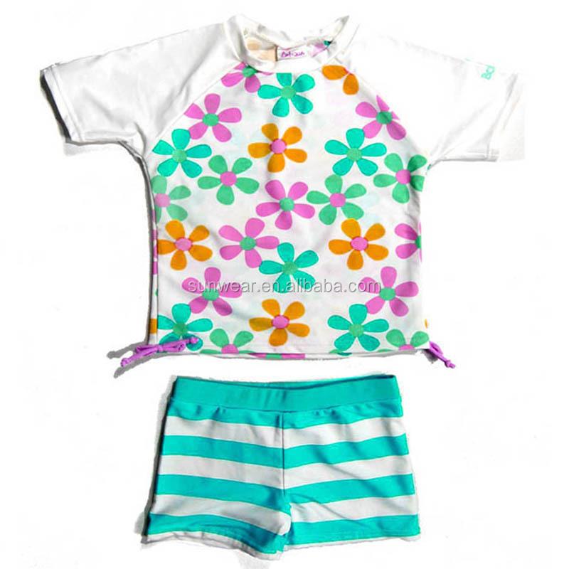 Kids Toddler Girls or Boys JAN /& JUL UPF 50+ Long Sleeve Swim Shirts OR Sets for Baby
