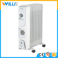 oil filled heater parts/electric fan heater/ceramic portable heater with 7-11 fins