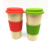 Reusable bamboo drinking coffee cups takeway 500ML