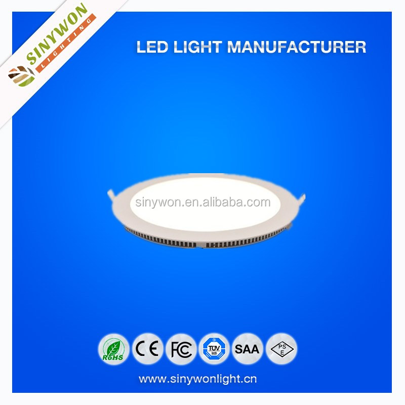 Sinywon lighting Best Performence 24w Round Mosaic guide plate led recessed led panel light price