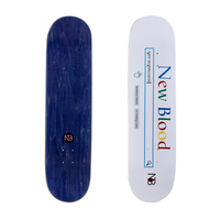Longboard complete skateboards Custom High Quality 100% Canadian Maple cheap blank skateboards