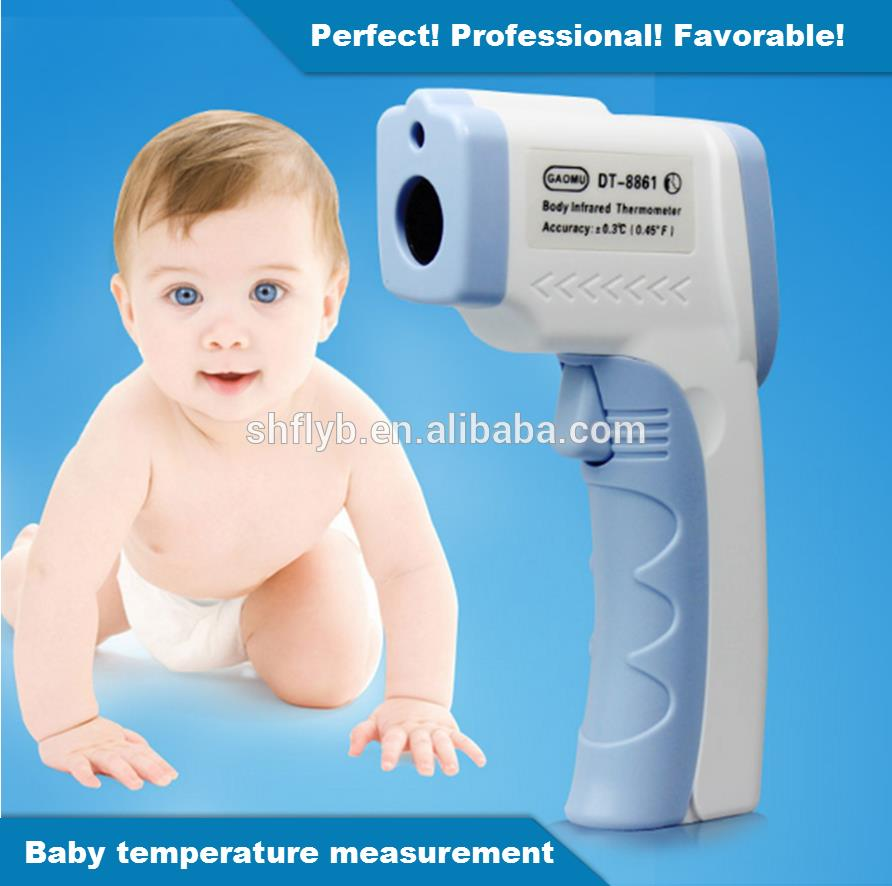 Feilong Baby/Adult Electronic Digital Thermometer Non Contact Infrared IR Forehead Thermometer