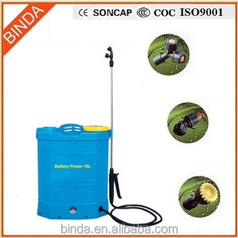 16 knapsack battery power sprayer