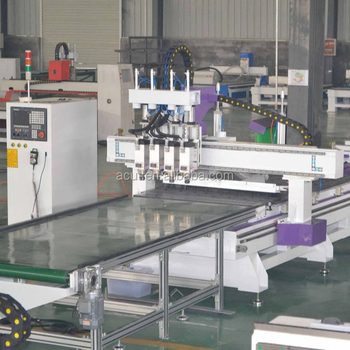 1325 panel furniture processing line 4+5 milling machine cutting milling engraving cnc router
