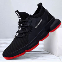 New Latest Design Fashion Sneakers Men Casual Printed Canvas Shoes Wholesale