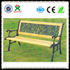 beautiful durable wooden garden bench outdoor park bench cheap advertising park benches QX-146A