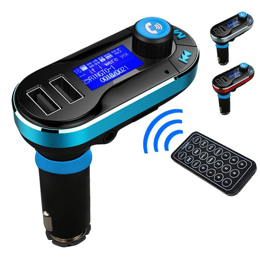 Top design handsfree call car mp3 cigarette lighter wireless fm transmitter
