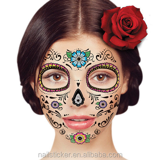 Manufacture China suppliers temporary face tattoo