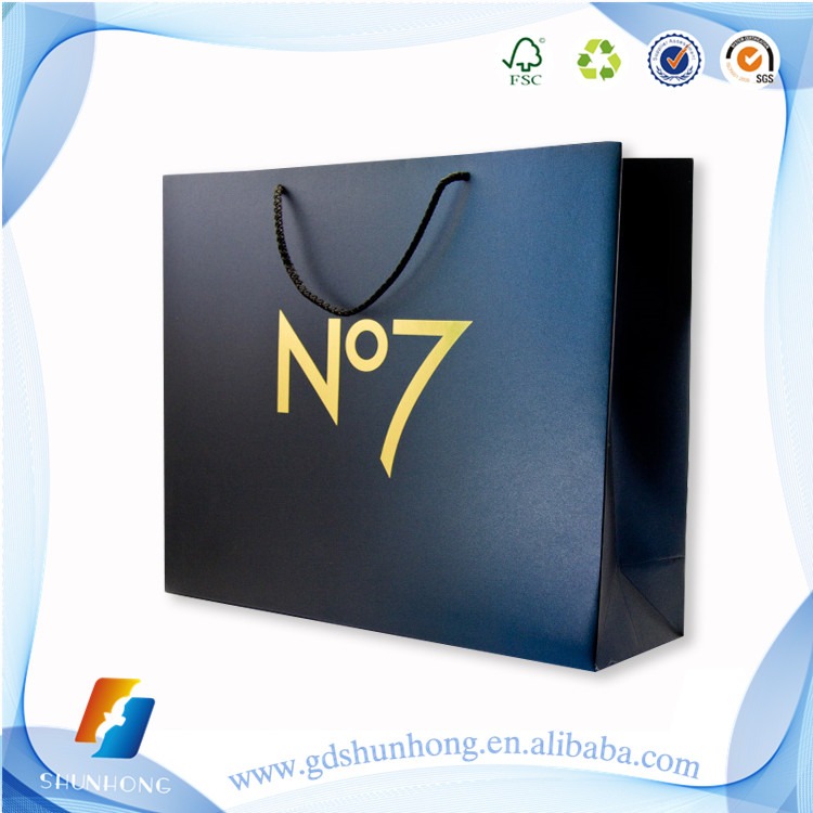 China manufacturers customized brown paper bags shopping bag wholesale