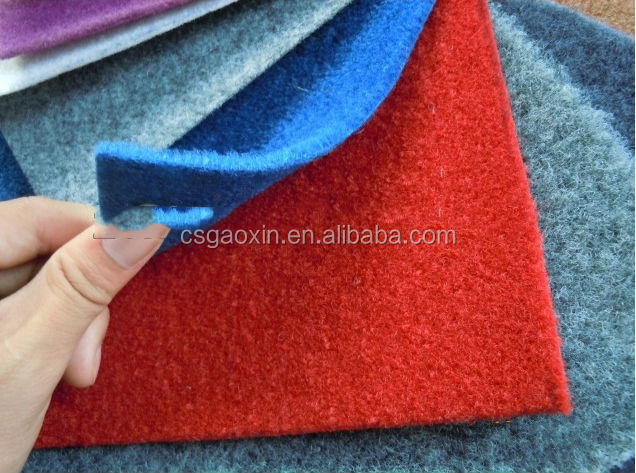 Plain nonwoven polyester carpet wholesale felt moving blankets