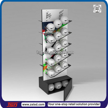 Tsdw40 Custom Made Sports Shop Pos Free Standing Double Side Delectable Football Stands Display