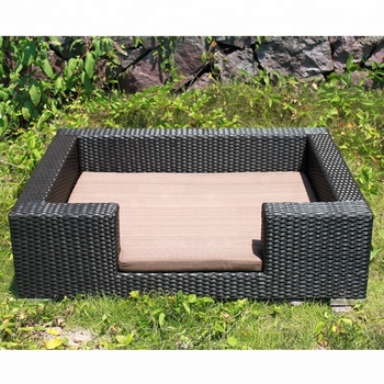 Awe Inspiring Wholesale Oem Order Low Price Resin Wicker Poly Rattan Dog Bed Square Scpb 001 Buy Outdoor Rattan Dog Bed Dog Bed Outdoor Wicker Rattan Day Beds Andrewgaddart Wooden Chair Designs For Living Room Andrewgaddartcom