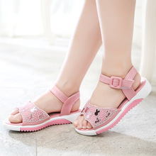 Summer beauty chidlren sandals boys girls cool shoes baby trainer comfortable outside sport kid tenis child