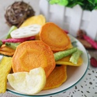 Healthy Crispy Snack Sliced Shape Mixed Vegetable Chips