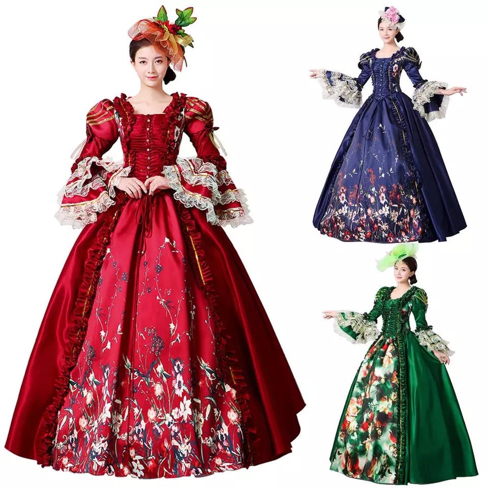 Venta Al Por Mayor Vestidos Princesas Medievales Compre