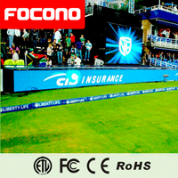 outdoor full color Football/basketball Stadium Led Display Led Billboards For Sport Events