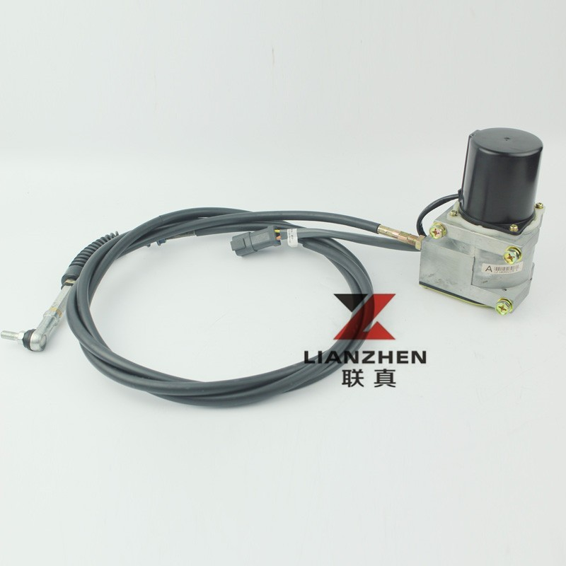 Throttle Lever For Dc Moter : The long wire hyundai accel actuator excavator throttle