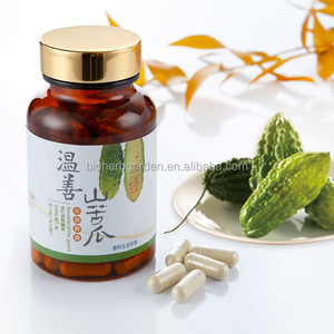 High Quality Natural Bitter Melon Powder Supplement Slimming Capsule