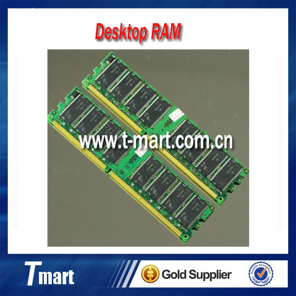 100% working and high quality original 2GB 2X1GB PC2100 266MHZ DDR 266 PC-2100 184PIN desktop memory