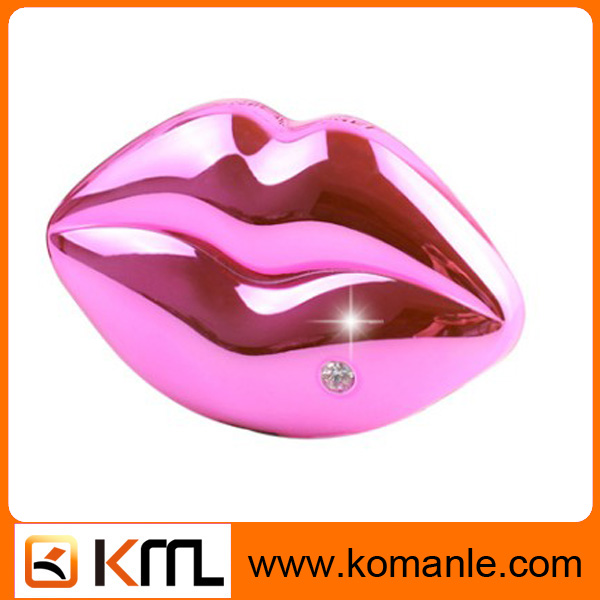 Hot Products 2015 lip stick Power Supplier Promotional Power Bank with Sling 9000mah gift Power Bank forwomen
