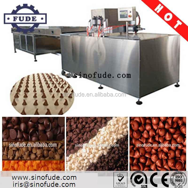 FUDE CCDseries Automatic Chocolate Drop Casting Machine / Chocolate forming machine