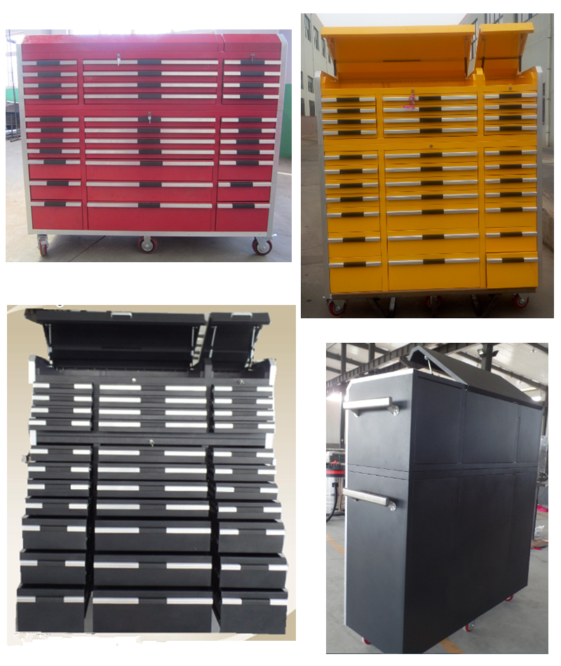 Large steel powerd coated tool box used tool cabinet for sale.png
