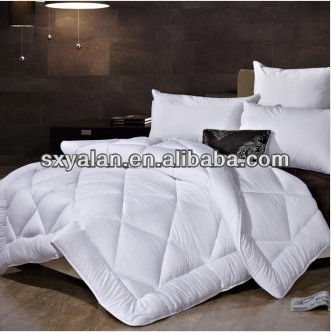 Polyester Silicone Fiber Down Feather Filling Quilt Duvet Comforter For Hotel Use