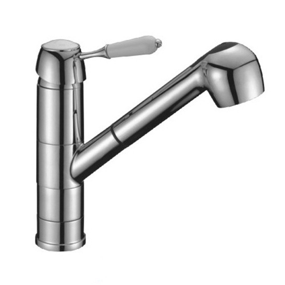FHLYCF Faucet, pull pull type kitchen faucet, all copper hot and cold water basin faucet