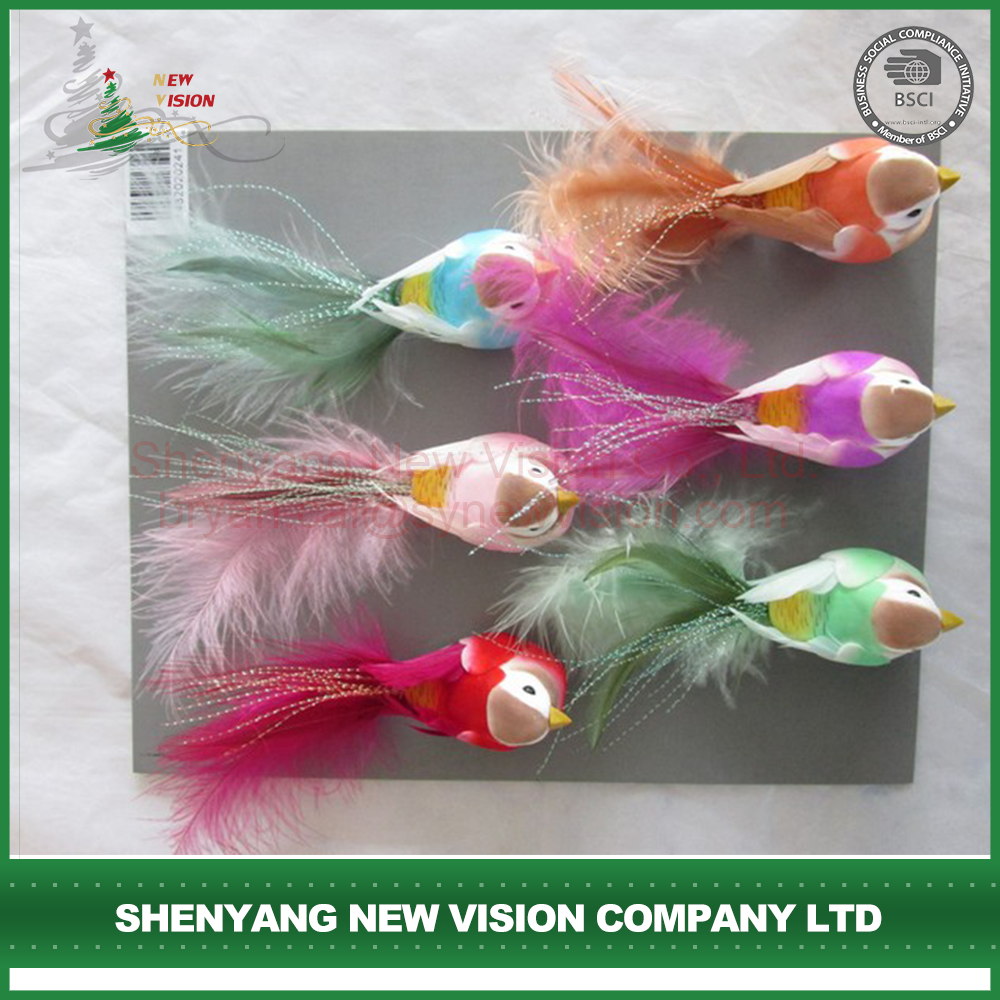 Top Sale Cheapest High Quality Feather Bird Decoration