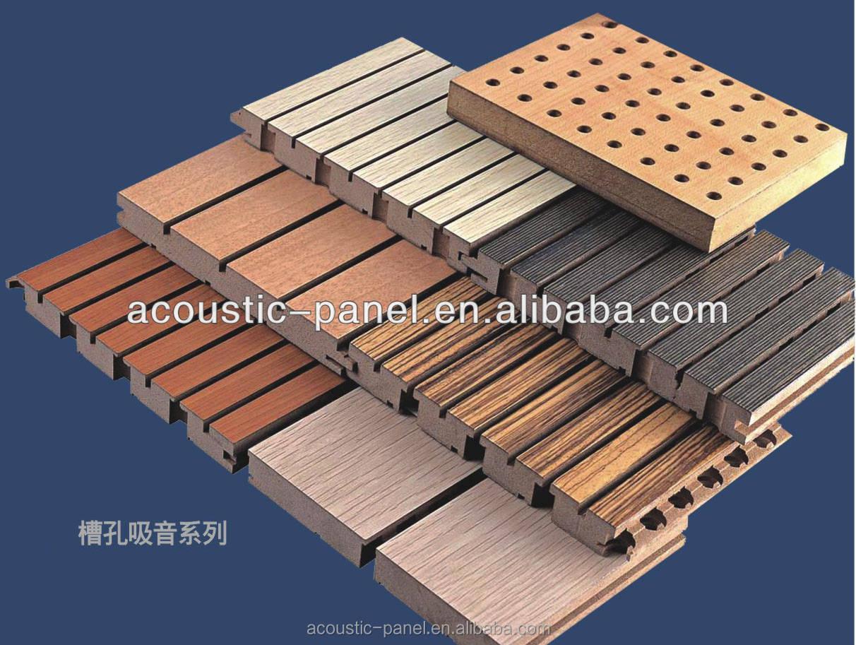 Pareti Di Legno Prezzi : Buona qualità acoustic wall panel acustica pannello di parete di