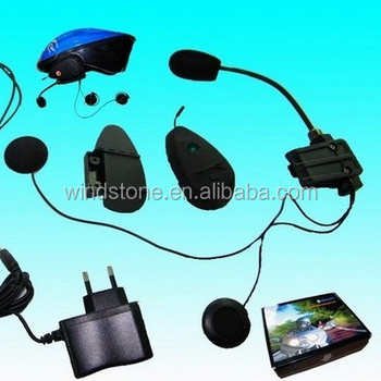 motorcycle or bicycle driver headset for interphone