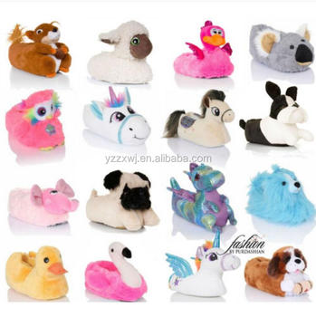 325ee72f203e8 New Womens Girls Novelty 3d Character Plush Unicorn Animal Slippers Ladies  Cute Animal Slippers Plush Animal Duck Slippers - Buy New Womens Girls ...