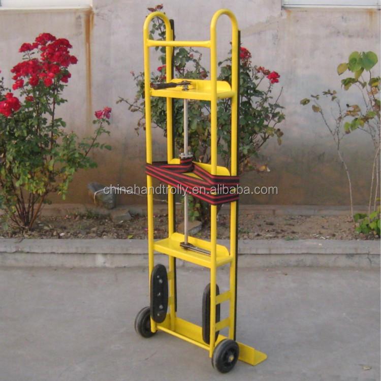 Nevera subir escaleras carretilla de mano mover muebles dolly carros y carretillas de mano - Como subir muebles por escalera caracol ...