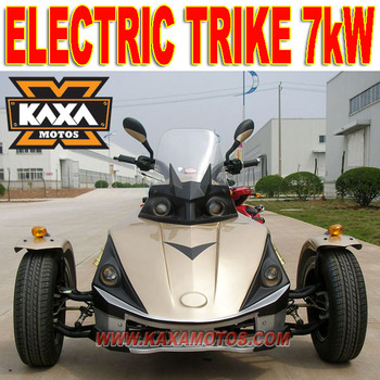 7kW Electric Adult Three Wheel Scooter