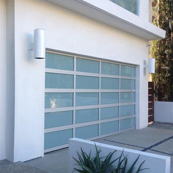 Shenzhen Prima Modern Glass Garage Door Prices Entry Doors Buy