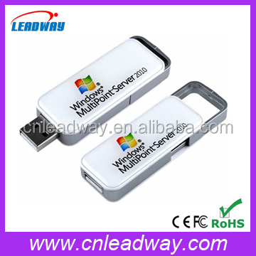 cheapest novelty full real capacity slide style epoxy doming usb flash drive