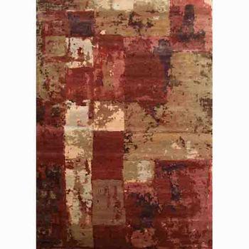 Custom Hand Knotted Tibetan Carpet Made