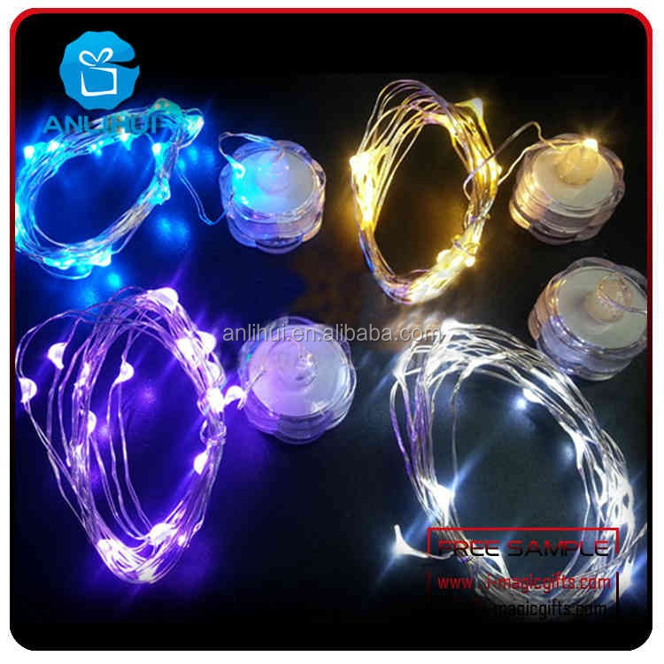Color Changing Flashing Blub Waterproof led twinkle light string