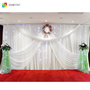 Simple beatuy easy install wedding home celebraiton venue stage simple beatuy easy install wedding home celebraiton venue stage decoration drape accessories junglespirit Choice Image