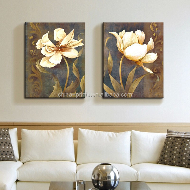 Home Goods Wall Art/Canvas Art Prints Dropship/Wall Flower Oil Painting