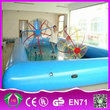 Hi Ce High Quality Swimming Pool Wave Machine Inflatable Square Swimming Pool Inflatable